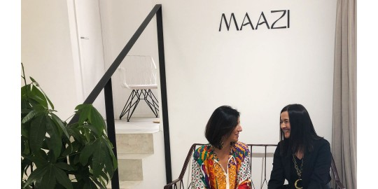 Nos visita la diseñadora Olga Prieto