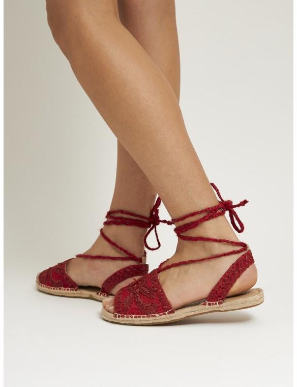 Sandalia roja