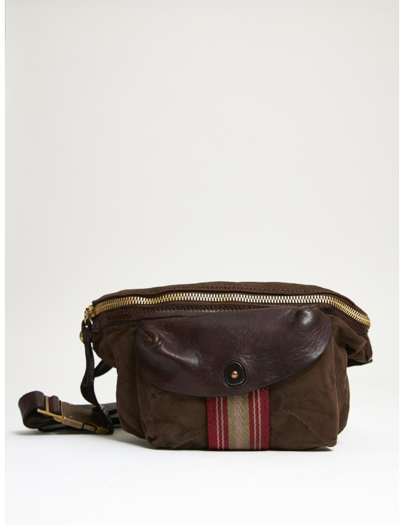 Cotton Woven Waist Bag...