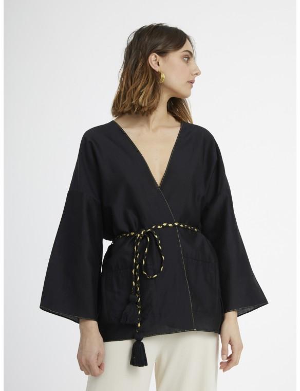 Kimono short belt.