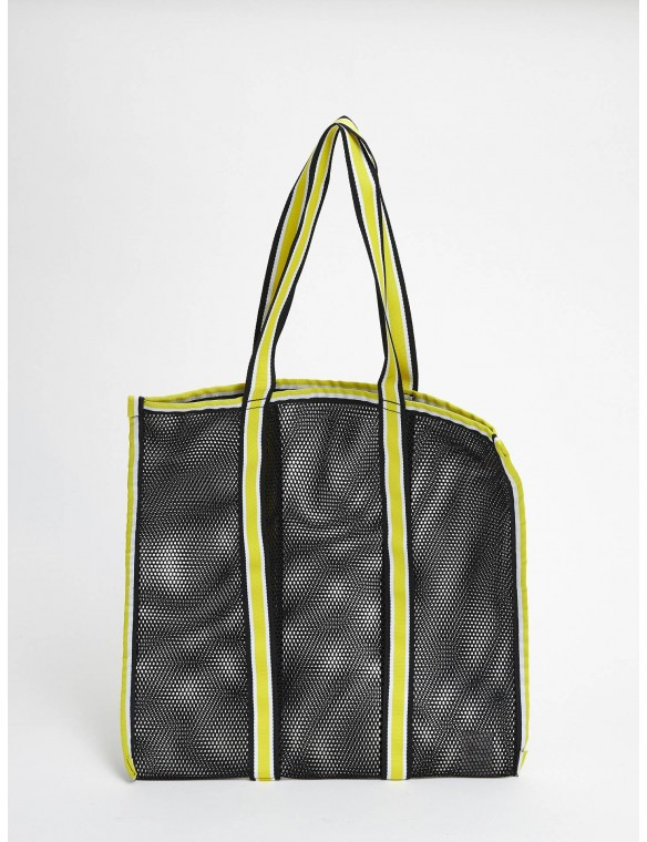 Shopping bag grid meshy.