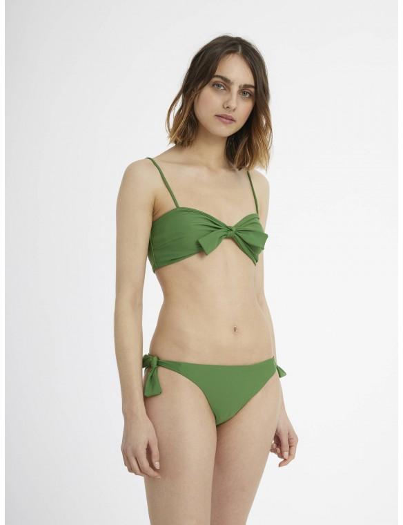 Braguita green bikini.