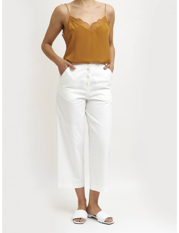 Beige trousers loneta.