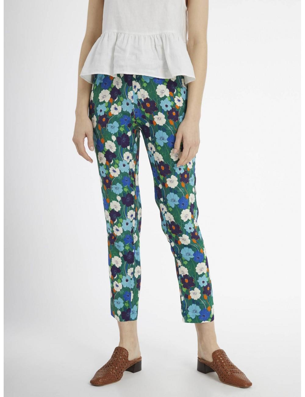 c6c977cc22 Pantalón estampado flores - MAAZi