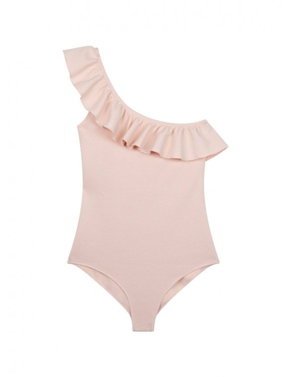 Asymmetrical swimsuit with...