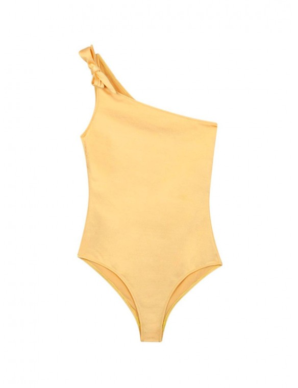 Asimético bathing suit with...