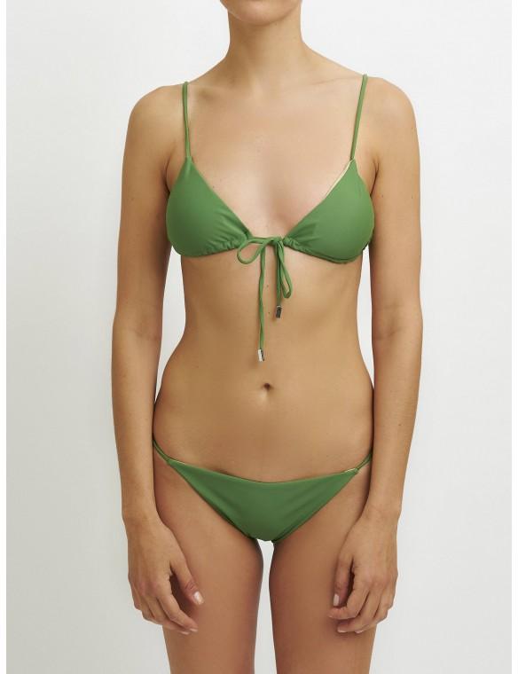 Triangle bikini bra.