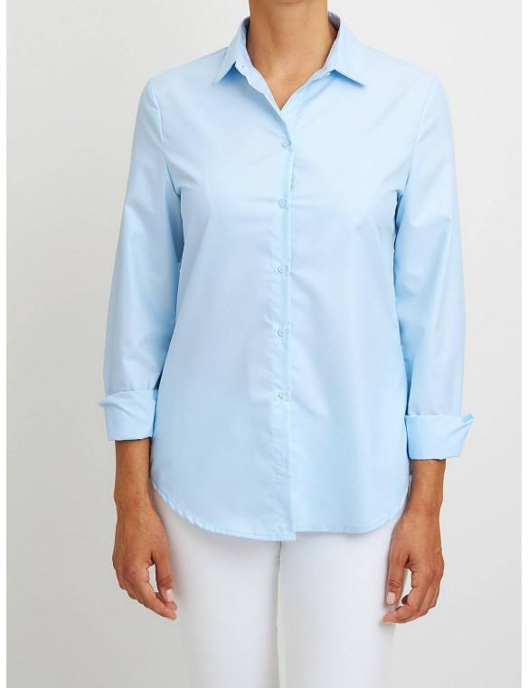 Shirt collar shirt.