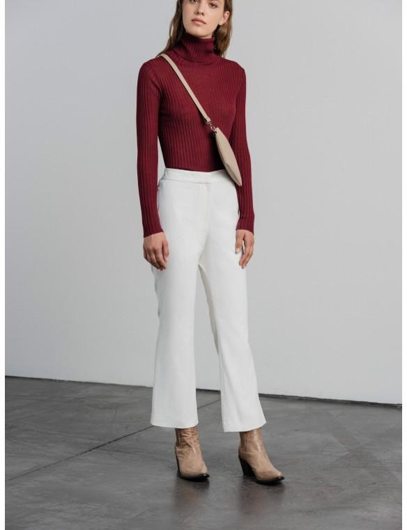 Corduroy bell pants