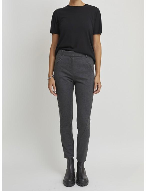 Knit skinny pants
