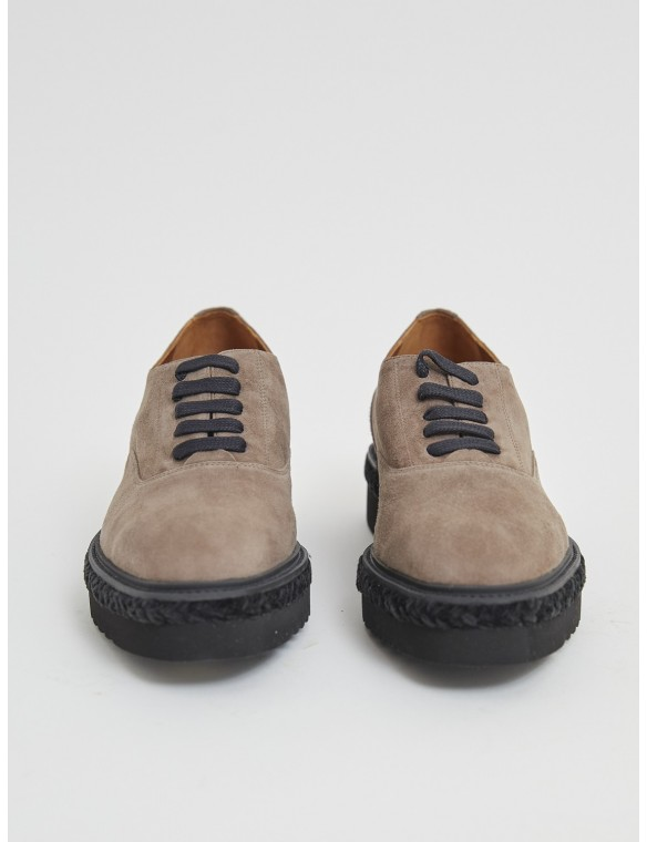 Suede Blucher with laces