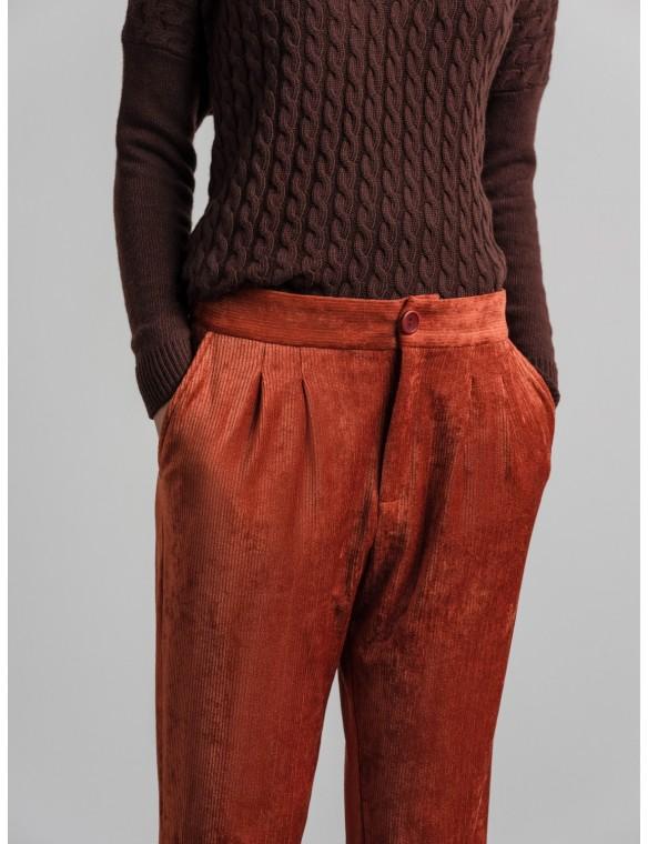 Pantalón velour canutillo
