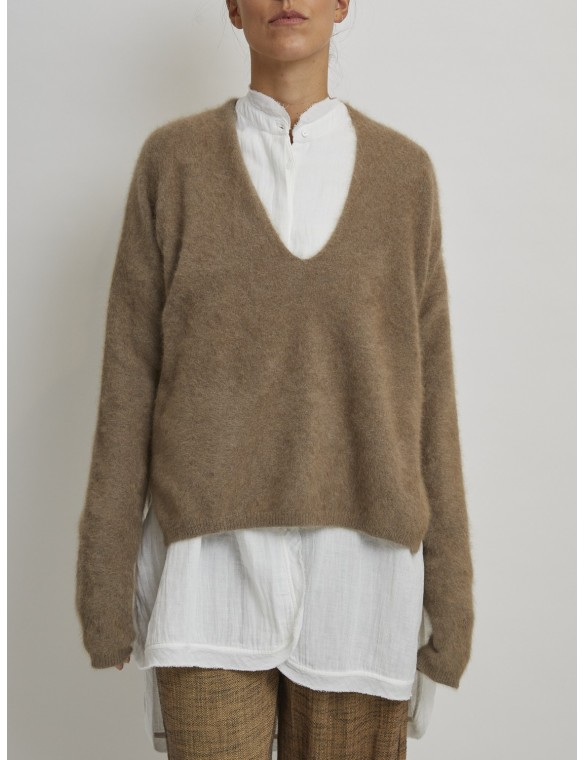 Soft cashmere sweater