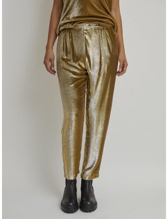 Pantalón dorado