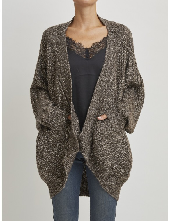 Asymetric knit Cardigan