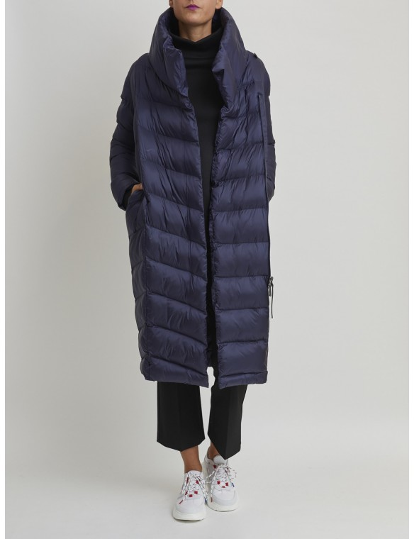 Long down oversize jacket