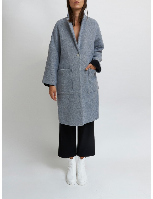 Wool mootle coat. MAAZI