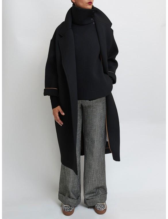 Neoprene coat with vest