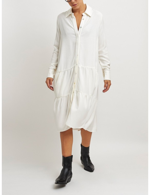 Dress with 3 frills. MAAZI