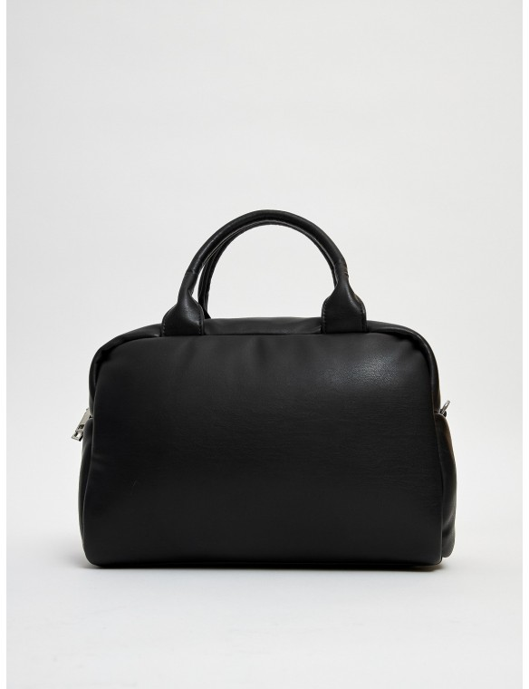 City leather bag