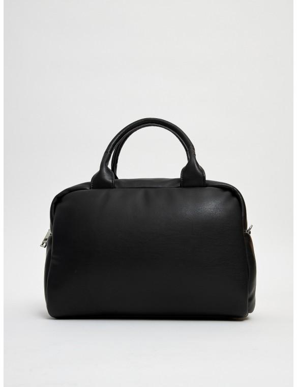 City leather bag