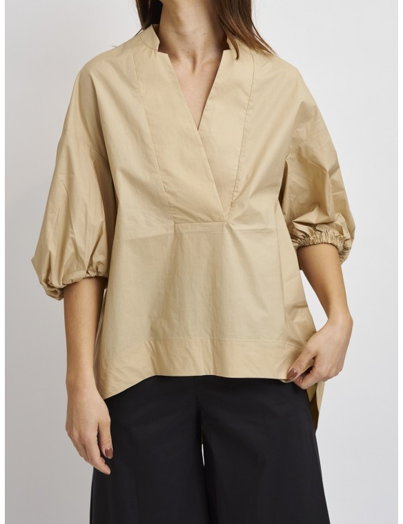Oversize shirt wiht short...