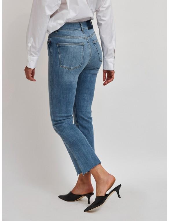 Jeans campana cintura alta...