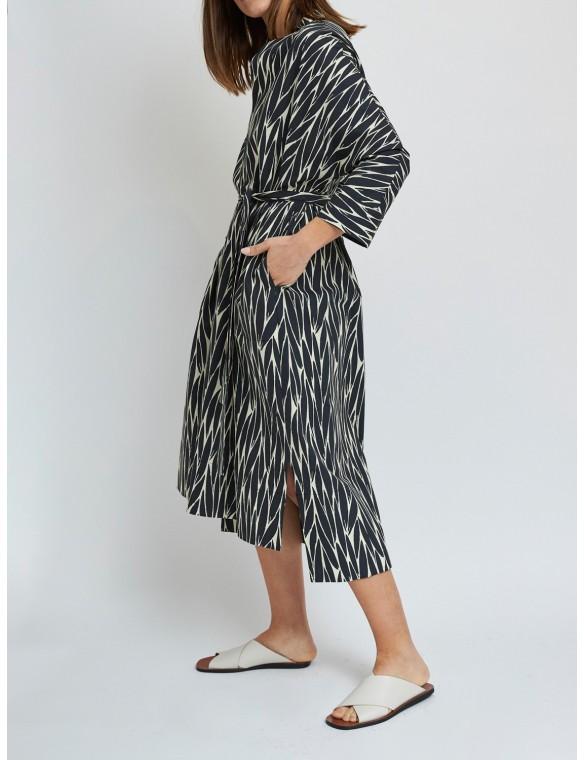 Oversize dress long sleeve