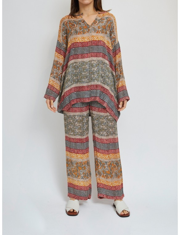 Oversize etnic  blouse