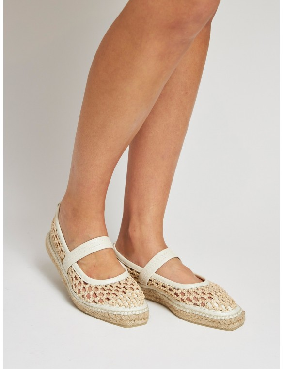 Espadrille crochet with...