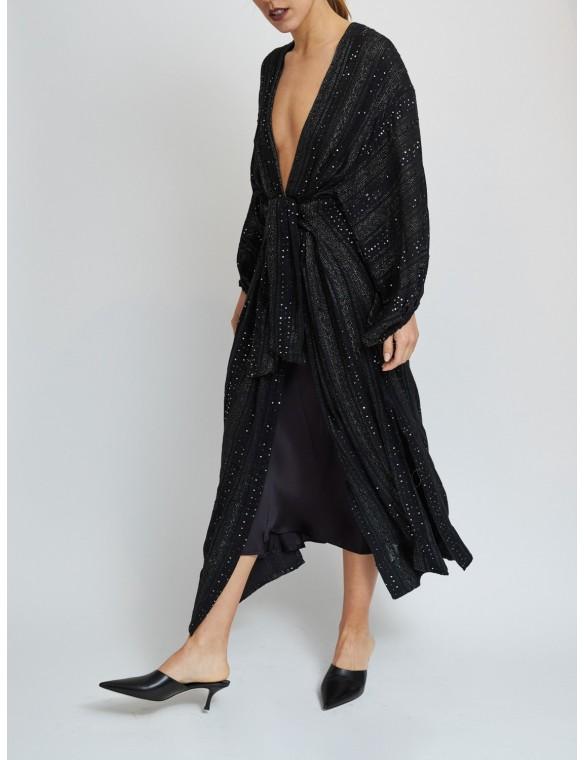 Dress-Kimono sequins