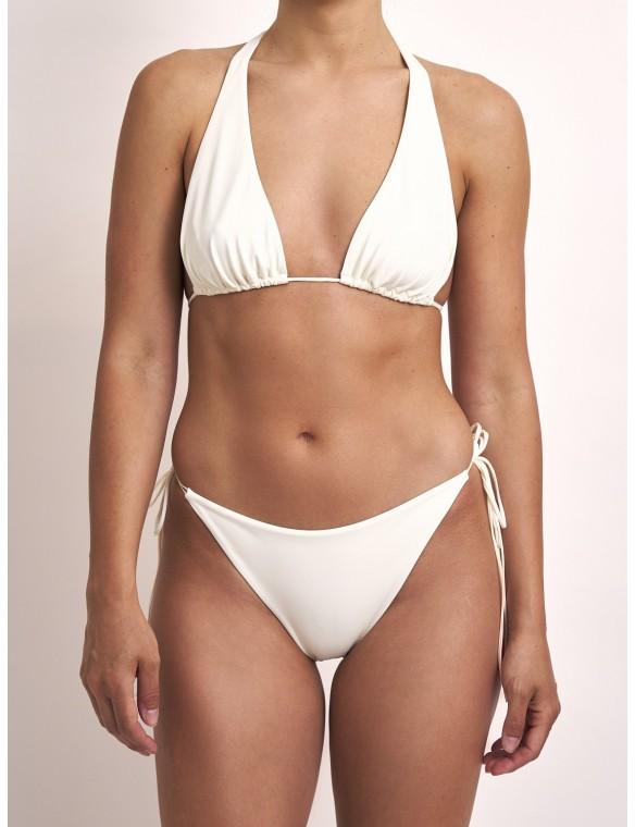 White triangle bikini