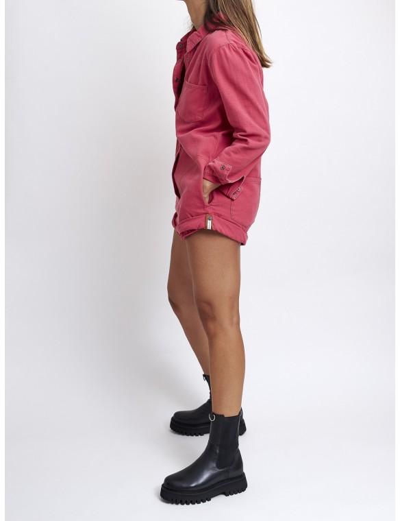 Long sleeve short jumpsuit