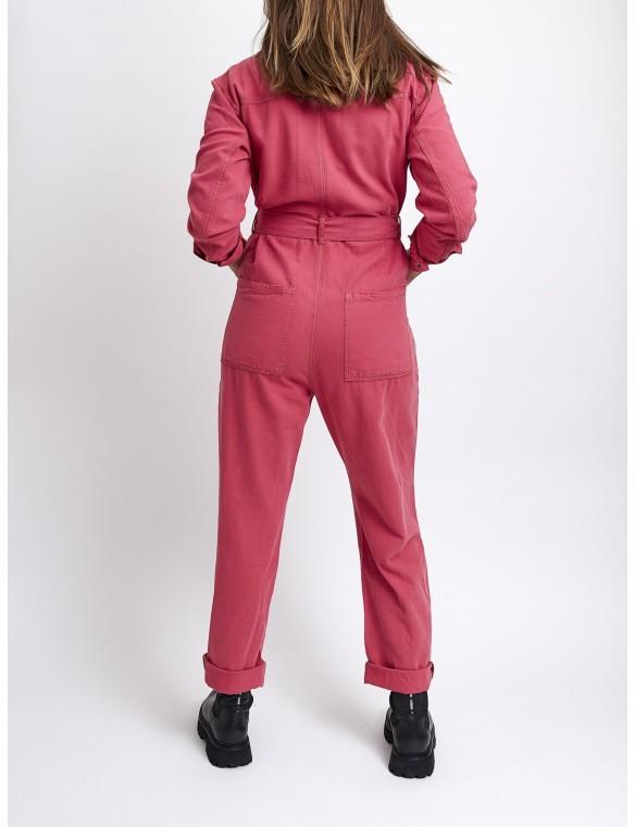 Long sleeve long jumpsuit