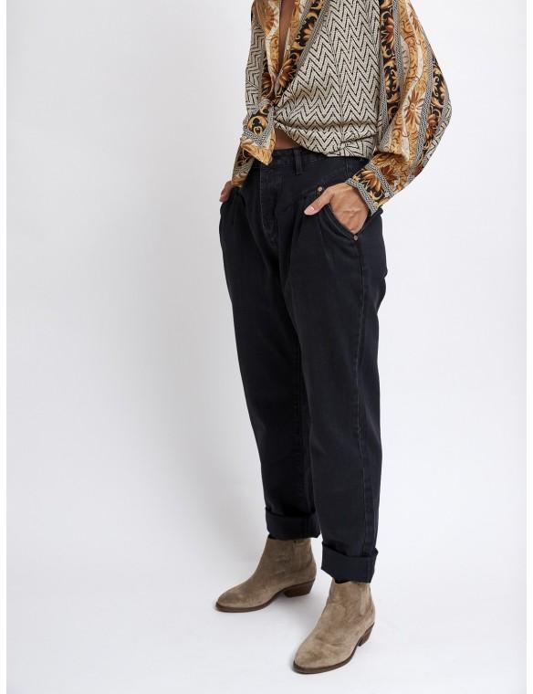 Pantalón vaquero pinzas