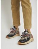 Multicolor leather sneaker