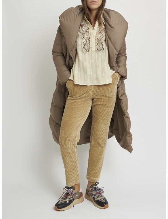 Pantalón pana marrón