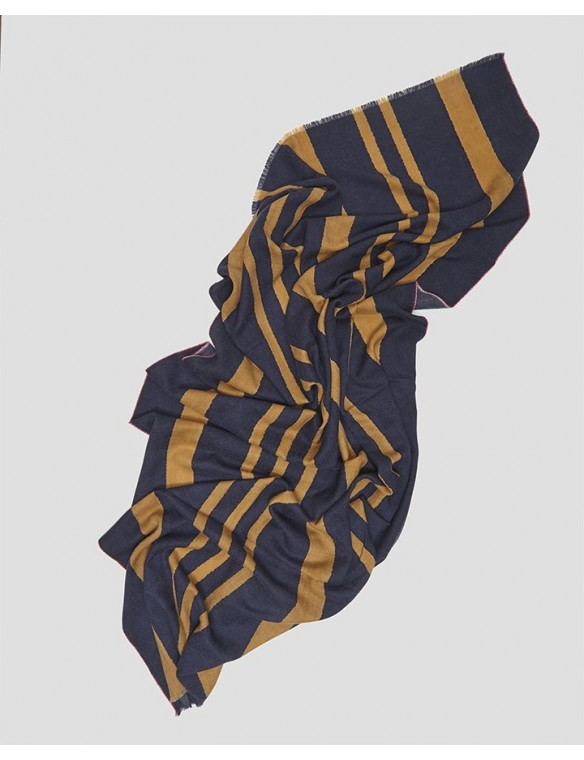 foulard lana rayas