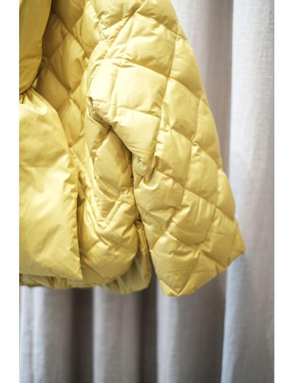 Plumas acolchado bufanda