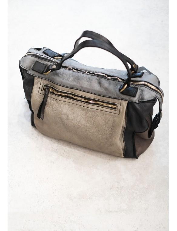 Multicolor leather bag