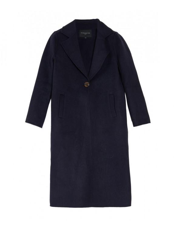 Abrigo lana largo