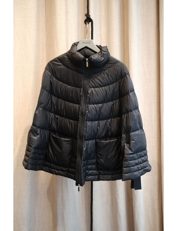 Padded cape coat