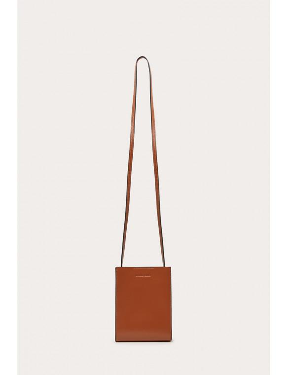 Rigid leather bag