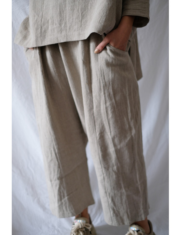 pantalón potra lino organico