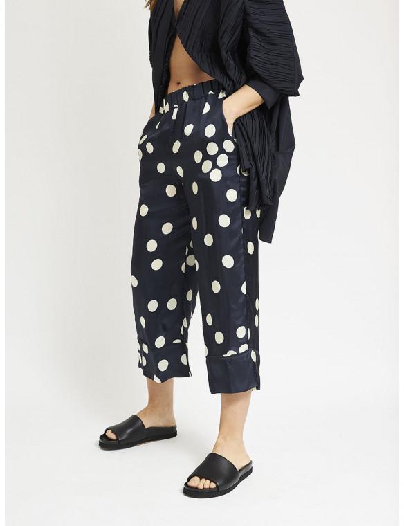 Pantalón lunares goma