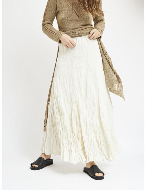 Falda larga algodón
