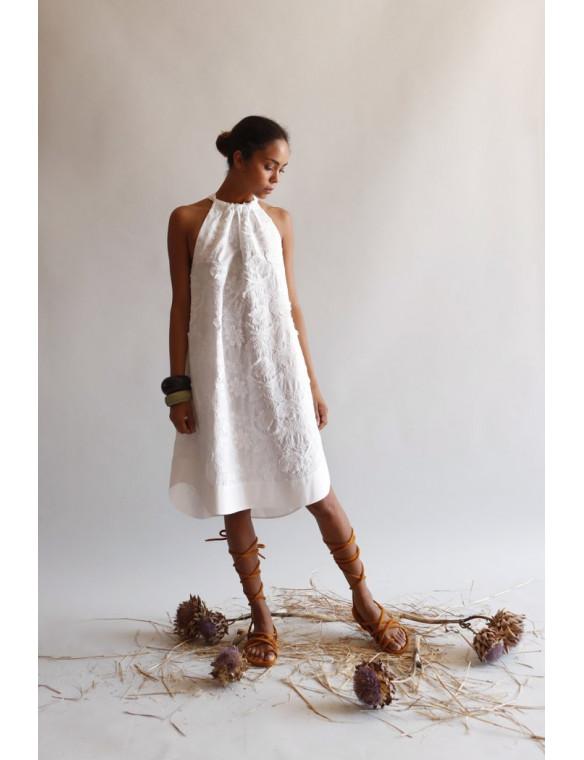 Vestido bordados blanco