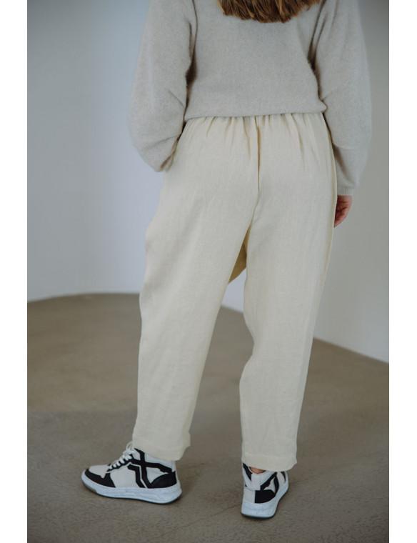 Pantalón lino orgánico