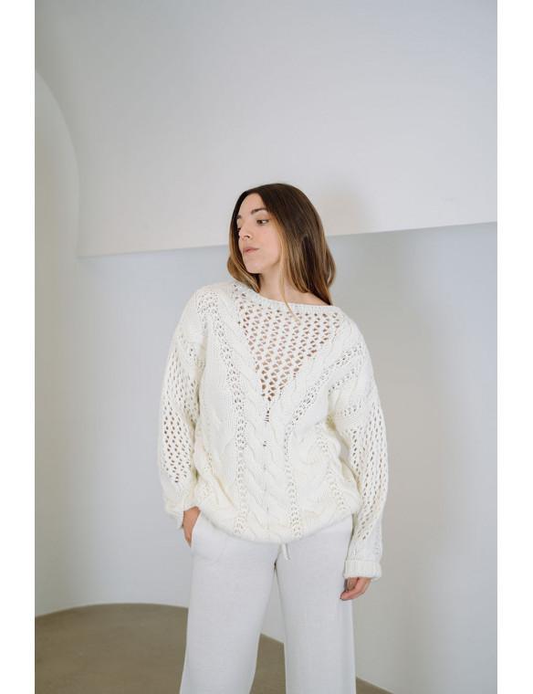 Jersey lana ochos