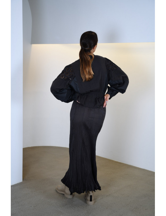 Falda larga bambula
